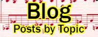 Blog posts by topic
